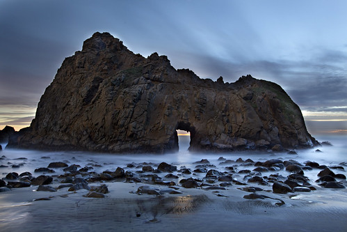 無料写真素材, 自然風景, 海, ビーチ・海岸, 風景  アメリカ合衆国
