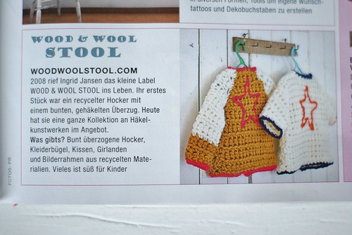 süß für kinder by wood & wool stool