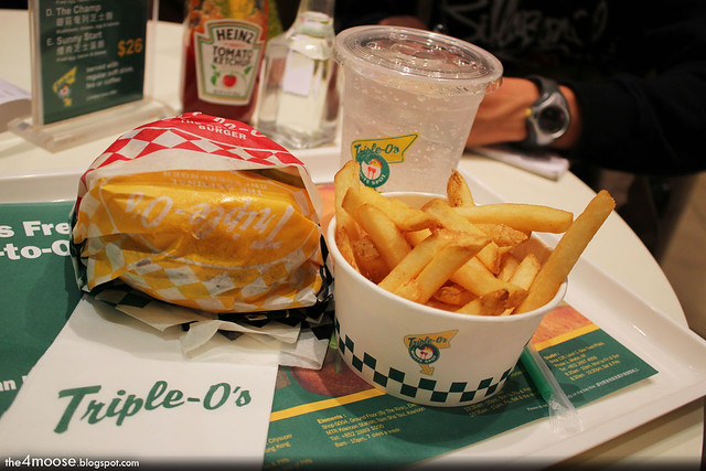 Triple O's Original Burger Meal