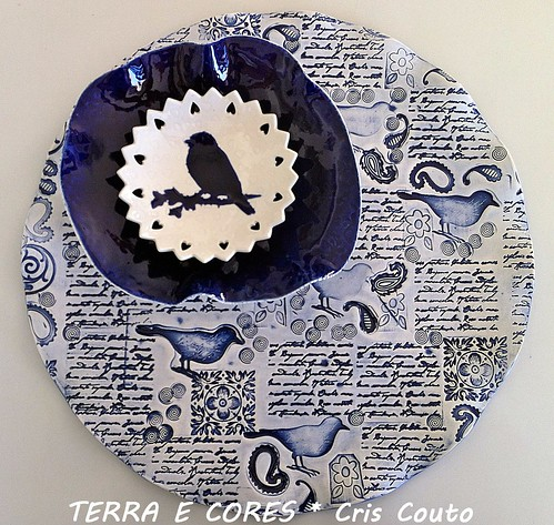 Blue Bird Plates by cris couto 73