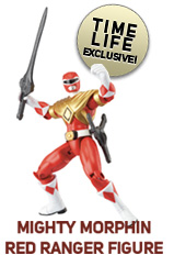 Exclusive Red Ranger figure