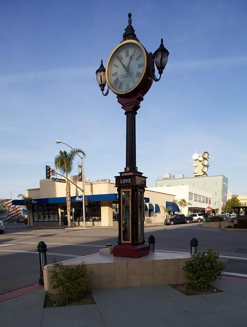 Bakersfield Street Clock Flickr Photo Sharing