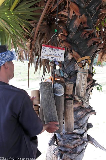 Selling Palm Juice at Angkor Wat