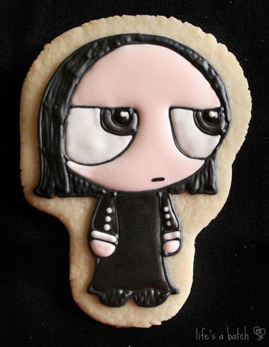 Severus Snape Potterpuff Cookie.