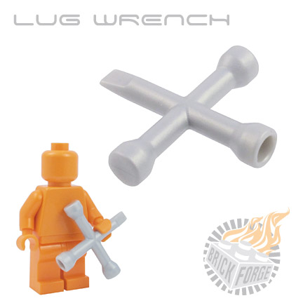 Lug Wrench - Silver