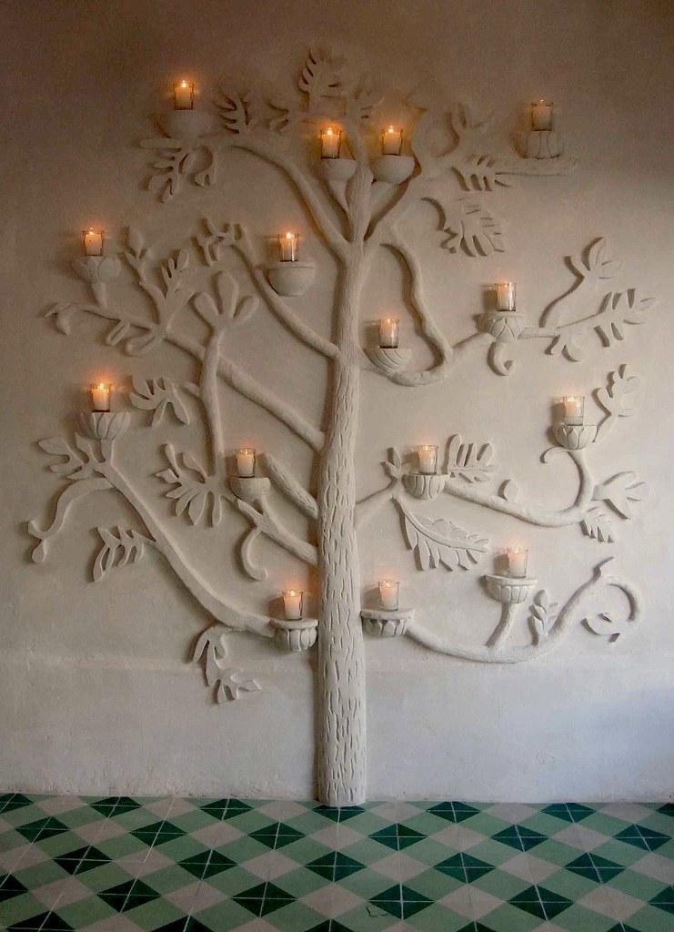 Как сделать из гипса дерево