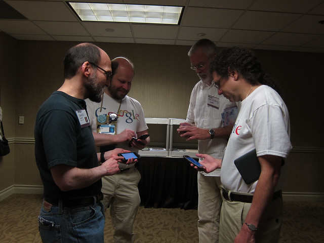 Men of WisCon Compare Devices
