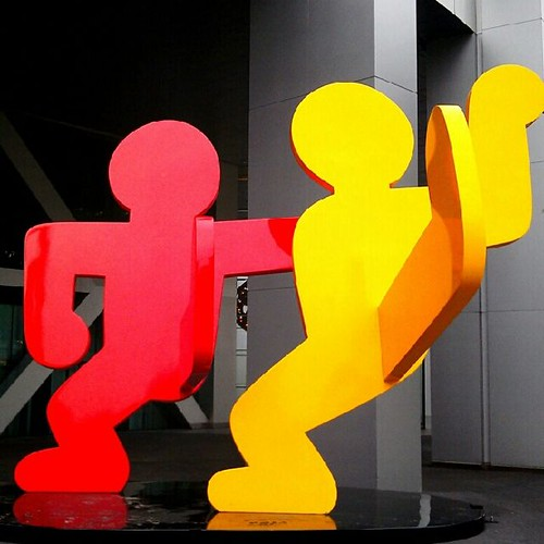 Keith Haring Sculpture