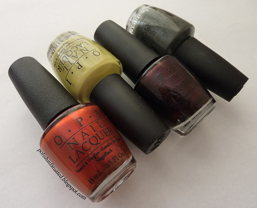 OPI Germany nail polishes