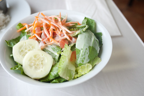 Salad with Lime Dressing @ Inti