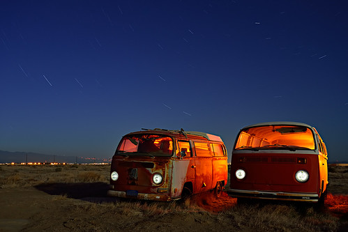 orange crush. mojave desert, ca. 2012.