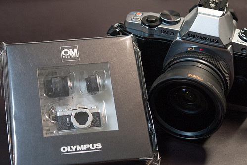 OLYMPUS OM-1 Camera Miniature