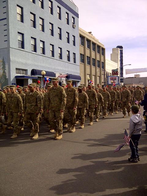 Fairbanks Salute to Military