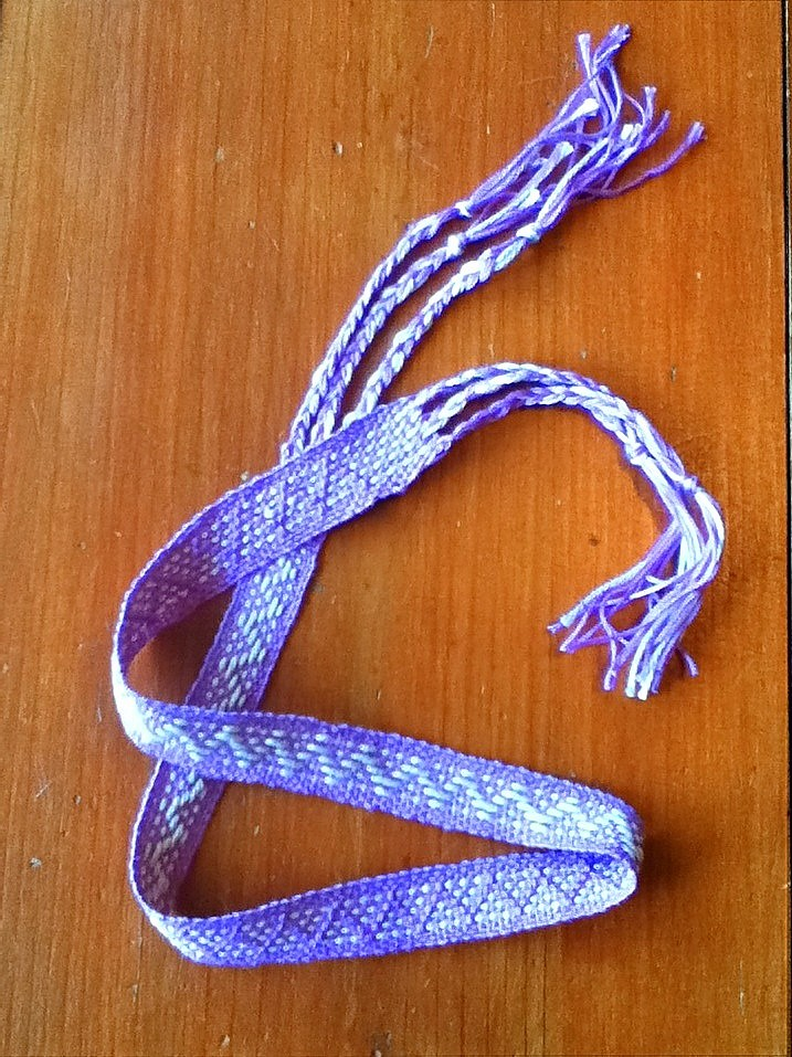 Lilac woven band