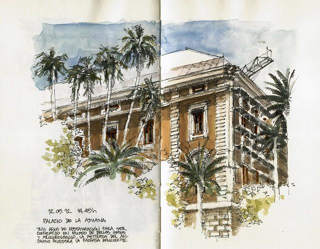 Málaga, Palacio de la Aduana