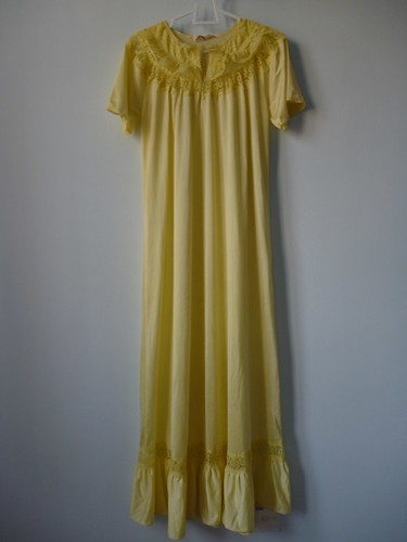 thrifted nightgown