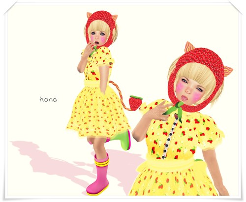 Strawberry girl。
