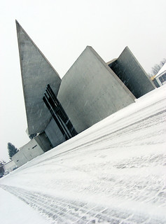 Vitra Fire Station, Zaha Hadid architects, 1994. / 01/2010