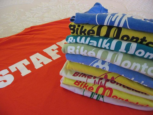 Tour de Montclair t-shirts