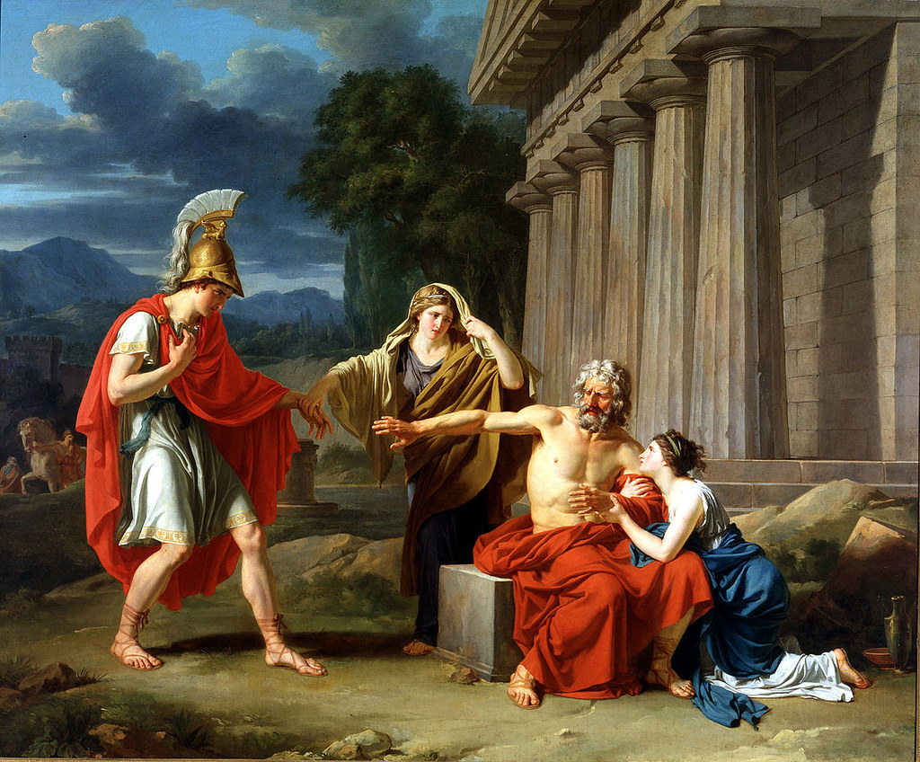 Girodet: ' Oedipus at Colonus ' Jean-Antoine-Théodore ...