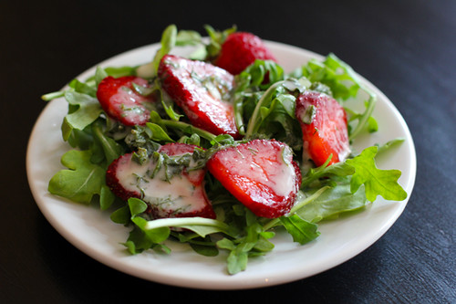 Pretty in Pink: Strawberry Salad