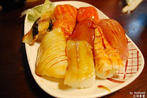 份量驚人的手握壽司