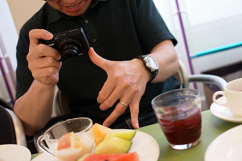 how fix camera while table photo shooting