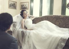 [フリー画像素材] 人物, カップル, 行事・イベント, 結婚式, ウエディングドレス, ベトナム人 ID:201205251200