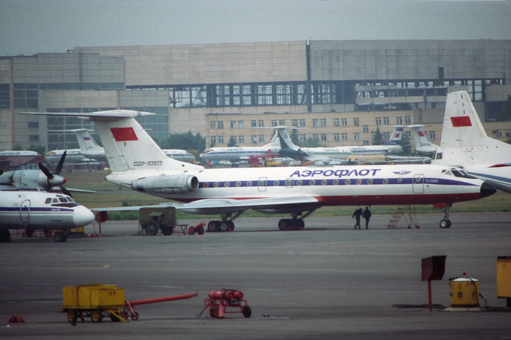 CCCP-93929 TU-134 Aeroflot