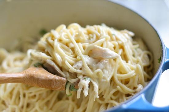 Chicken Spaghetti 13