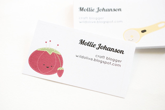 Crafty Characters Printable Calling Cards