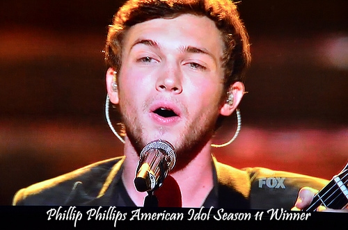 American Idol Season 11 winner Phillip Phillips