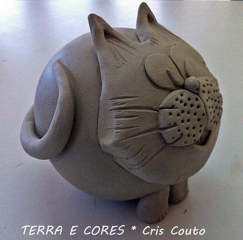 Gato....modelagem by cris couto 73