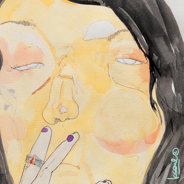 "random portrait: ""Addiction"""