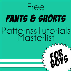 9579d98a2cd5 Max California  76 Free patterns   tutorials for BOYS pants   shorts!