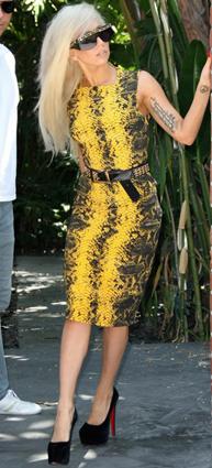 Lady Gaga - Versace FW11 snakeskin August 2011.jpg