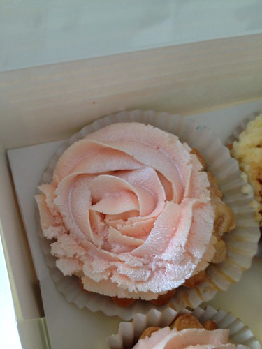 Rose Cupcake by Bombay Foodie