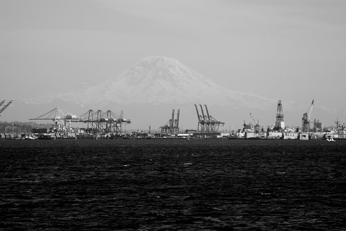 View of Rainier by kiki5253