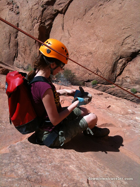 Canyonnering at Escalante National Monument 27