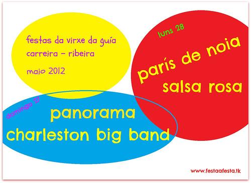Ribeira 2012 - Festas da Virxe da Guía en Carreira - cartel