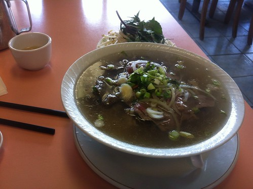 Medium Steak and Brisket Pho by raise my voice