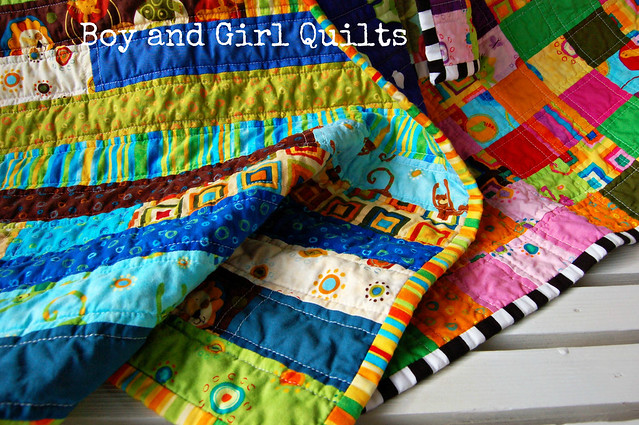 Boy and Girl Quilt
