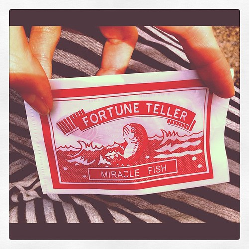 Fortune Teller Miracle Fish by Postcards from UAC