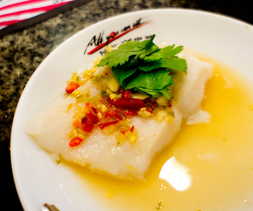 Thai's Dolly fish with spicy sauce