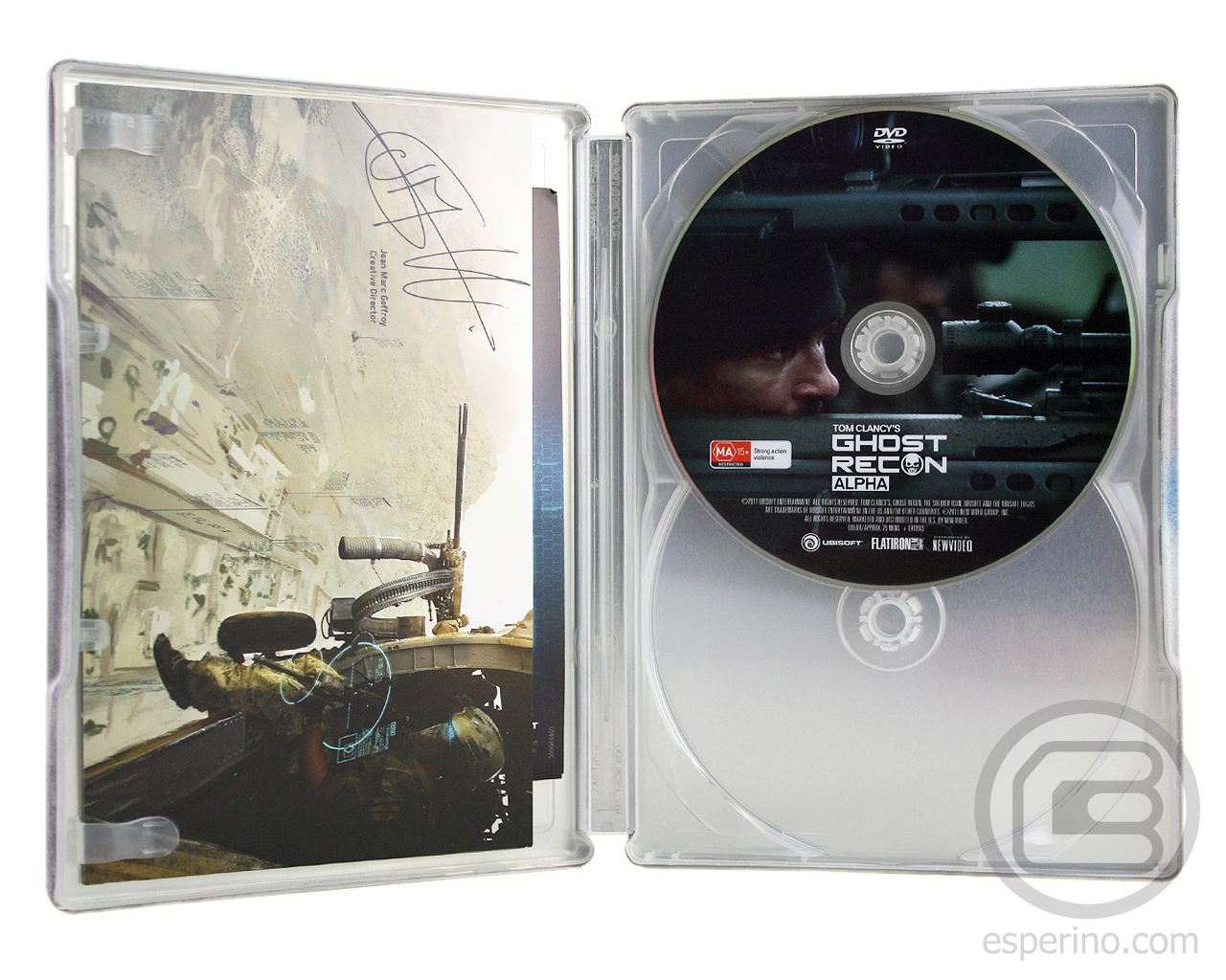 Ghost Recon Future Soldier Collectors Edition Unboxing