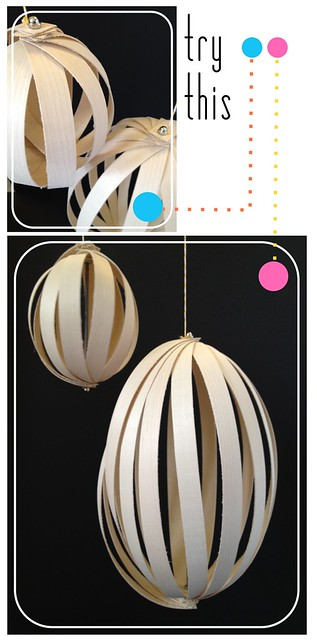 Try This - Wood Veneer Pendant