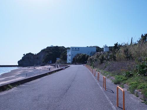 京大白浜水族館の近所