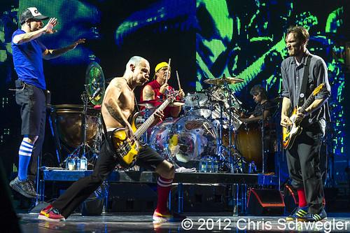 Red Hot Chili Peppers - 06-01-12 - Joe Louis Arena, Detroit, MI