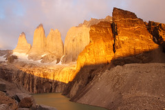 Golden Towers of Paine