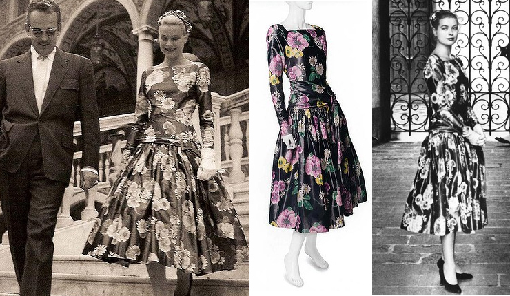 Grace Kelly McCalls Dress